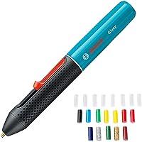 Bosch Gluey Accu lijmstift, met 20 lijmsticks, in kartonnen doos Lijmstift. blauw (blue lagoon)