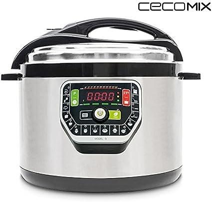 eurowebb Robot de cocina Multi olla 10 L – programable con 11 temperaturas regulables: Amazon.es: Electrónica