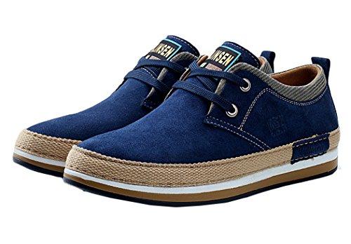 e93bd23b9 Mulinsen Christmas Seasons Breathable Male Casual Shoes(7D(M)US,dark blue