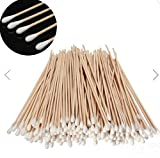 200Pcs Long Wood Handle Cotton Swab Applicator Medical Swabs by SiamsShop