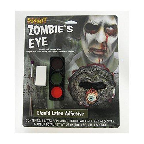 Fancy Face Paint Color Halloween Zombie Eye Makeup -
