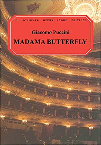 Vocal Score Madama Butterfly