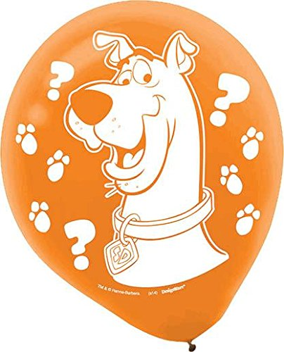 Scooby-Doo Where Are You! Latex Balloons (Scooby Doo Latex)