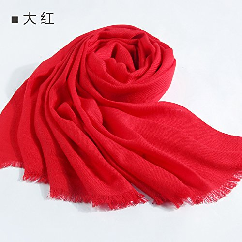RENYZ.ZKHN The Spring and Autumn Winter Long Scarf Scarf Shawl Scarves 60  200Cm All-Match