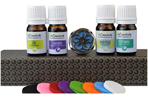 mEssentials Lotus Flower Aromatherapy Car Air Freshener Esse