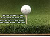 "48"" X 60"" Ultimate Super Tee Golf Mat - Holds A Wooden Tee"