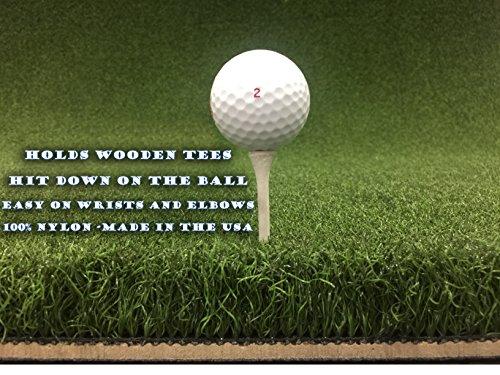 48″ X 60″ Ultimate Super Tee Golf Mat – Holds A Wooden Tee