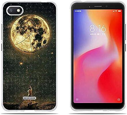 DIKAS para Funda para Xiaomi Redmi 6A, Silicona Transparente TPU ...