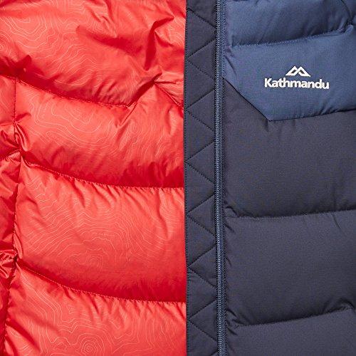 Di Delle Imbottito Basso Il Caldo Anatra Incappucciati Mezzanotte Marina Blu Inverno Scuro Verso Kathmandu Epiq Donne Giubbotto UXSOpqx