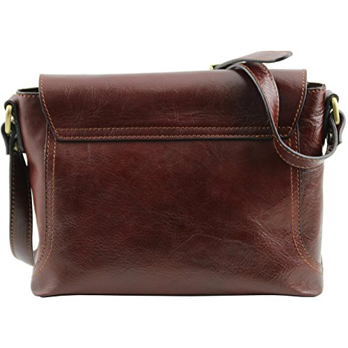 Leather Black Jody 81412784 Flap Bag Tuscany With Shoulder Leather Tv85Zqw
