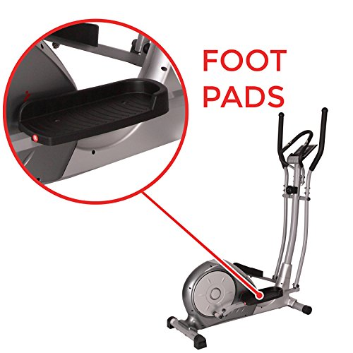 Magnetic Elliptical Trainer with Adjustable Resistance, Hand Pulse Sensors by Sunny Health & Fitness – SF-E3608 by Sunny Health & Fitness (Image #6)