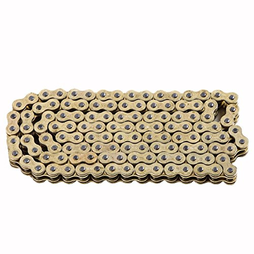 JCMOTO D.I.D 520 O Ring Chain 120 Link For Yamaha YZ125 YZ250 YZ250F YZ450F WR450F Gold (Chain O-ring Roller)