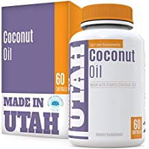 FLASH SALE - Organic Coconut Oil With Lauric Acid - Supports The Immune System, Rejuvenates The Skin And Raises Metabolism for a Healthier Body, 100% Extra Virgin, Expeller Pressed And Unrefined