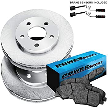 E550 Front Rear  Blank Brake Rotors+Ceramic Brake Pads Fit Mercedes-Benz E350