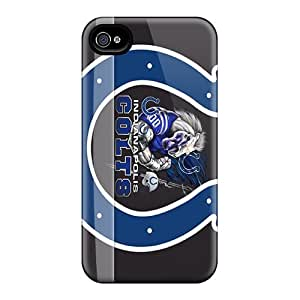 New Arrival Cover Case With Nice Design For Iphone 4/4s- Indianapolis Colts