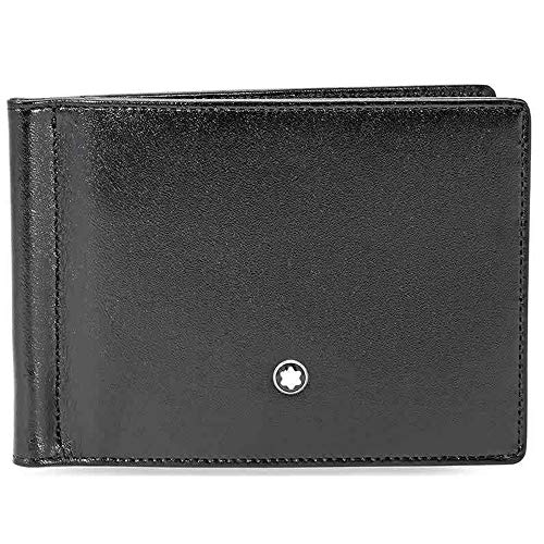 Montblanc Meisterstück Wallet 4cc with Money Clip and View Pocket