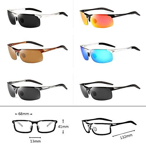 al para sol GYYTYJ luces para UV de Gafas de para Color F de libre aire SSSX pesca hombre sol protección Gafas sol para Gafas sol libre al Gafas polarizadas A aire de ZxrqTawZ