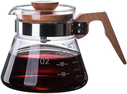 Ecocoffee V60 a Prueba de Calor Verter sobre la Estufa de Vidrio ...