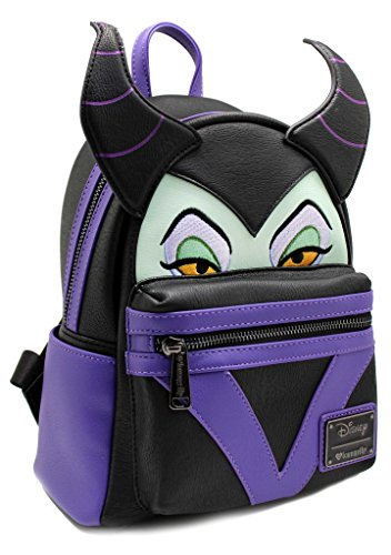 a70d635a510 Loungefly Maleficent Faux Leather Mini Backpack Standard - Import It All