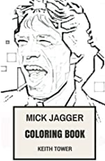 mick jagger coloring book rolling stones lead vocal and legendary english poet inspired adult coloring book coloring book for adults