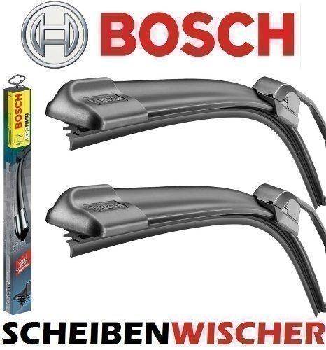 BOSCH AeroTwin Set 600 / 400 mm - Escobilla Limpiaparabrisas de Hoja Plana Limpiaparabrisas Delantero - 2mmService: Amazon.es: Coche y moto