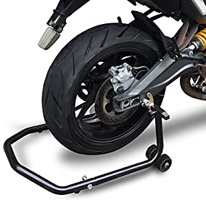 OxGord Motorcycle Stand All-In-One Universal Lift Kit for Front or Rear Large/Small Tires