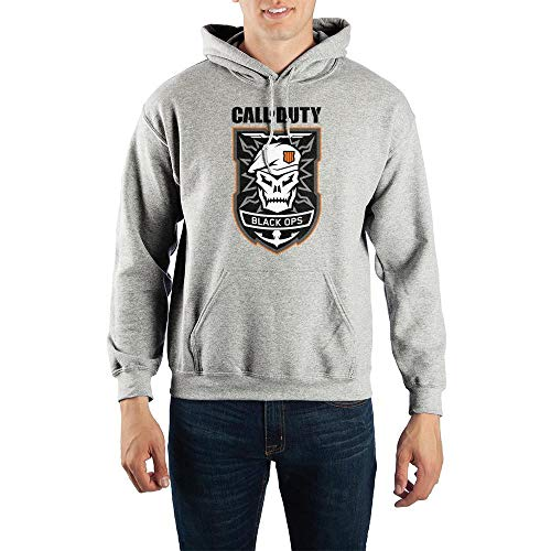 Call of Duty: Black Ops 4 Skull Pullover Hooded Sweatshirt-Small