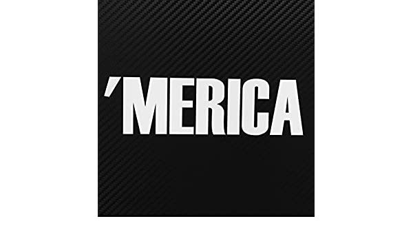 MERICA Decal JDM Decal for Car Outdoors AMERICA Windows phone etc.. /'MERICA