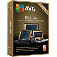 AVG Ultimate 2018 Unlimited Devices for 2 Years [Key Card]