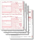 EGP IRS Approved 1099-INT 3 Part Laser Tax Form Set