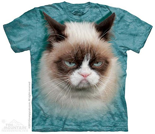 The Mountain T-Shirt Grumpy Cat XL
