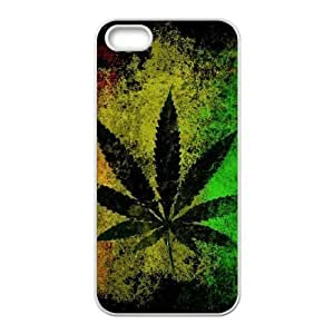 Weed Design Discount Personalized Hard Case Cover for iPhone 5,5S, Weed iPhone 5,5S Cover