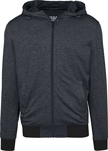 charcoal Urban black Classics Uomo Mehrfarbig Giacca 1166 Mens Light Training Jacket Sportiva rrwzHqf