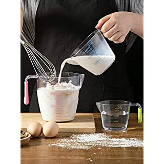 DdSHom2020 Measuring Cup Set,Measuring Glass(200ml/6.7OZ+400ml/13.5OZ+900ml/30.4OZ) (200ml/6.7OZ+400ml/13.5OZ+900ml/30.4OZ)