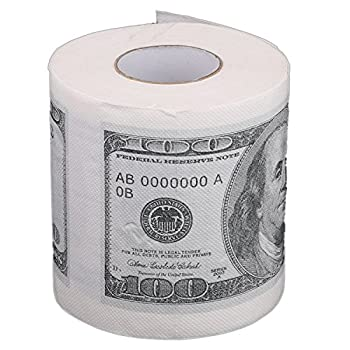 Toilet paper - TOOGOO(R)Toilet paper rolls paper in pattern for $ 100 White
