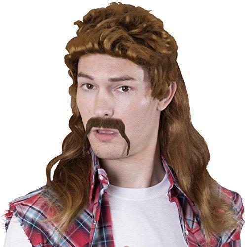 Redneck Halloween Costumes - Kangaroo Halloween Accessories - Redneck Wig,