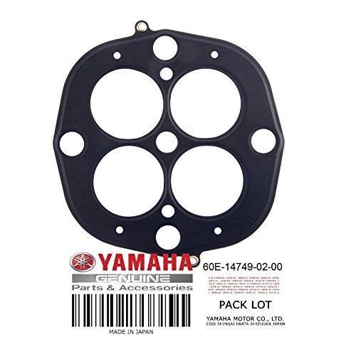 Yamaha 60E-14749-01-00 Gasket, Muffler Damper 2; New # 60E-14749-02-00 Made by Yamaha