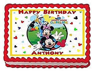 mickey mouse sheet cake mickey mouse clubhouse edible frosting sheet 5887