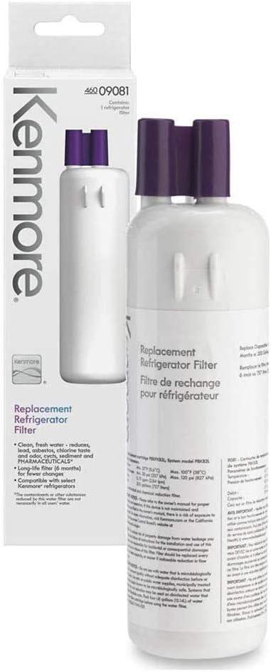 Kenmore 469081 Replacement Refrigerator Water Filter 1pk