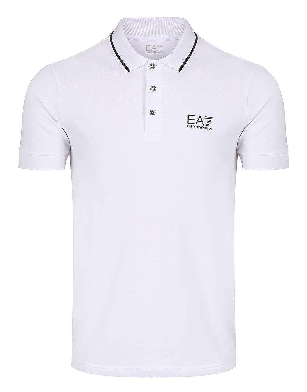 Emporio Armani EA7 Polo Shirt Charcoal: Amazon.es: Deportes y aire ...