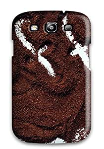 Durable Defender Case For Galaxy S3 Tpu Cover(love For Coffee)