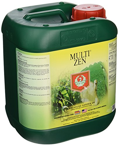 5l Garden - House & Garden HGMZN05L Multi Zen Fertilizer, 5 L