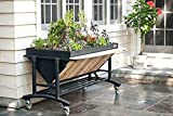 LGarden No.0099 Elevated Gardening System44; Slate Grey