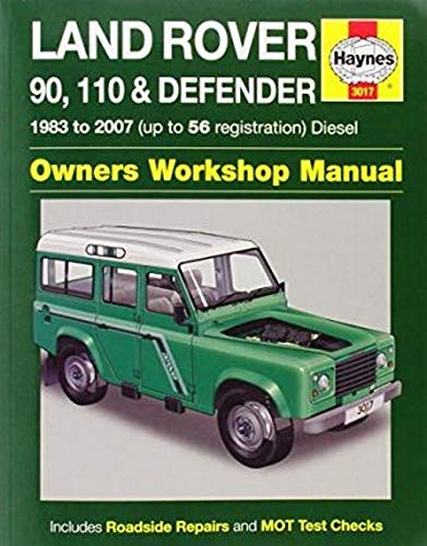 Land Rover 90 110 And Defender Diesel  Service And Repair Manuals
