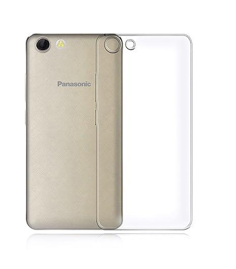 reputable site 54284 39d1b PARRK Hard Shell Transparent Back Cover For Panasonic P81: Buy PARRK ...