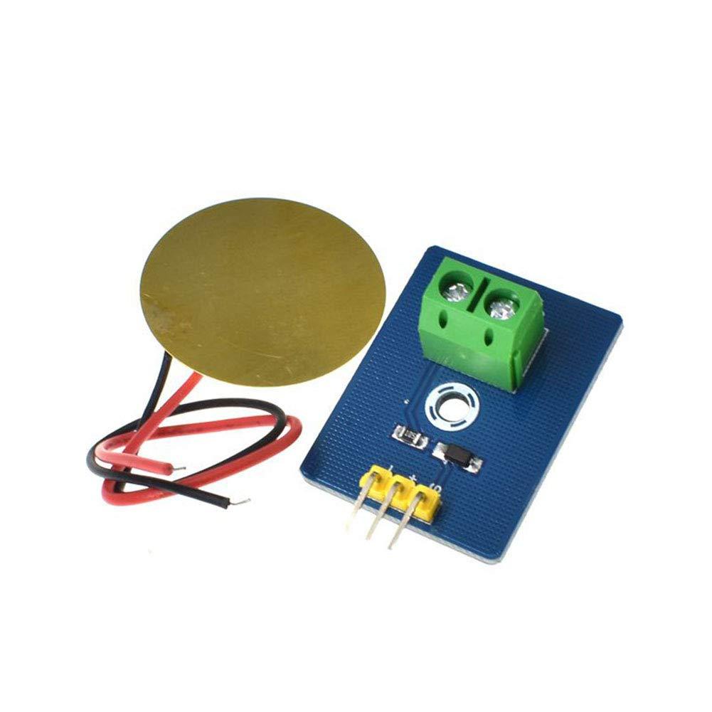 5pcs DIY pour Arduino UNO Rev3 DirkFigge Capteur de Vibrations pi/ézo/électrique en c/éramique pi/ézo/électrique analogique 1//2