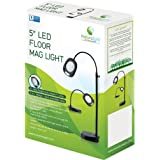 Naturalight 5-Inch LED Floor Lamp