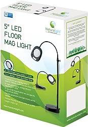 Daylight Naturalight Led Floor Lamp, 5-inch