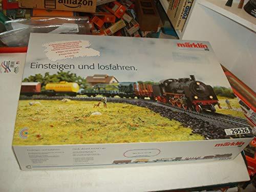 MARKLIN HO Delta-Digital Starter Train Set STEAM Freight Cars C Tracks Transformer 110V. 29526