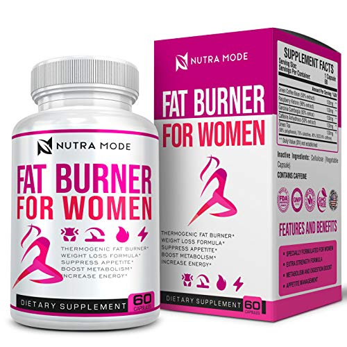 Natural Weight Loss Pills for Women-Best Diet Pills that Work Fast for Women-Appetite Suppressant-Thermogenic Belly Fat…